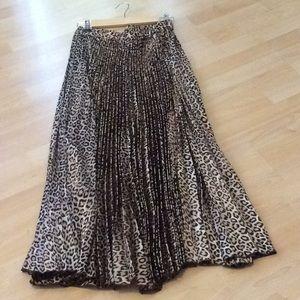 Chico's animal print maxi skirt, BNWOT, never worn